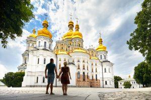 Поток туристов в Киев вырос на четверть