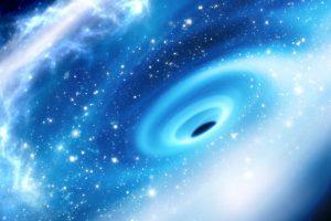 Гигантскую черную дыру обнаружили в крохотной галактике