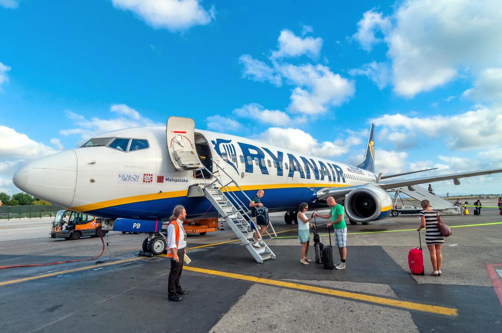 Ryanair ввела новые правила провоза багажа