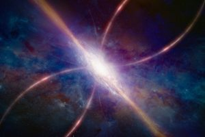 За обжорством черной дыры астрономы не разглядели сотни галактик