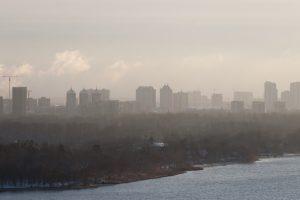 В Киеве уровень загрязнения воздуха вырос в 5-7 раз