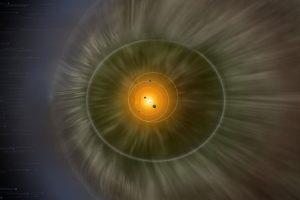 Солнечную систему окружает стена