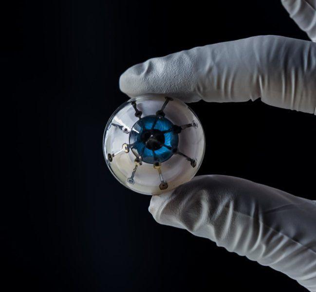 Впервые бионический глаз напечатали на 3D-принтере