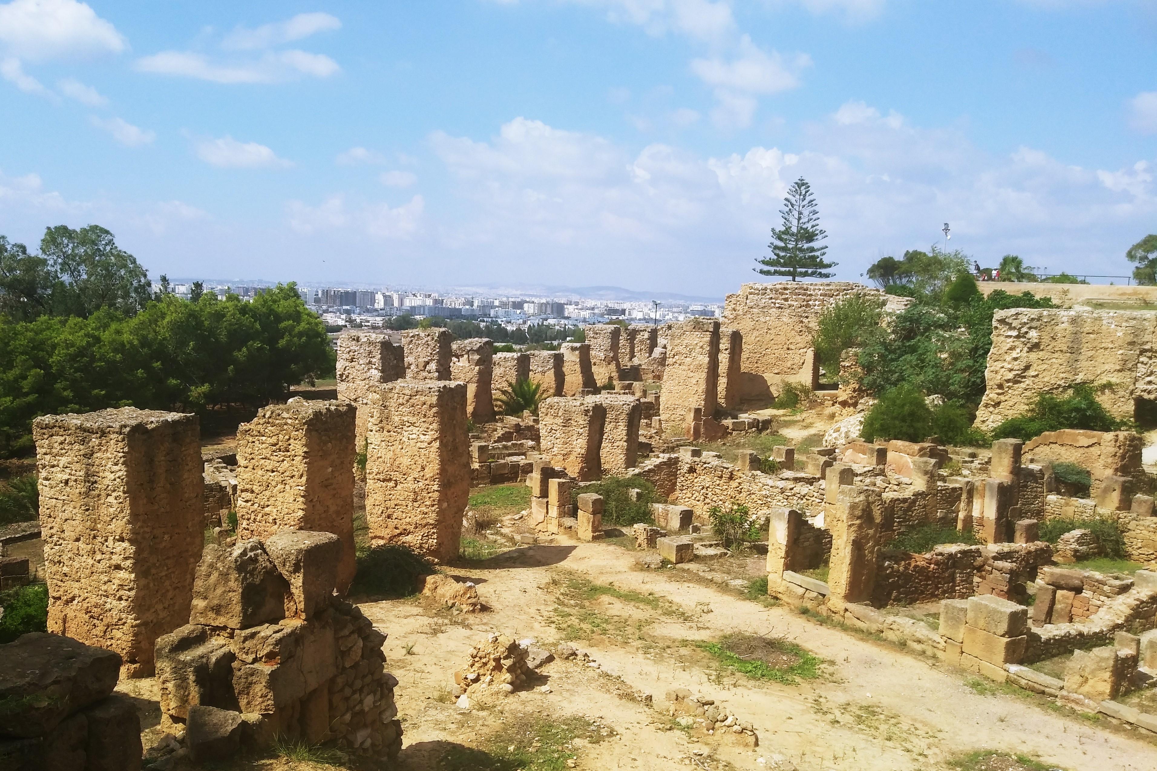 Тунис Туніс: «вільні люди» бербери, захід сонця в Сахарі та два Карфагени 20180921 11110222