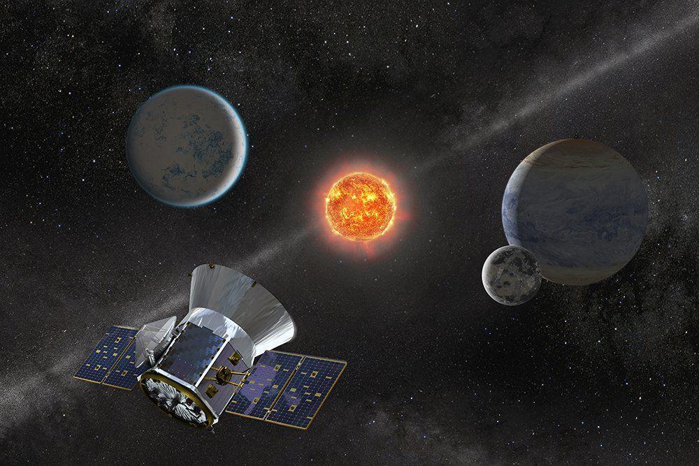 Раскаленная земля: телескоп TESS нашел вторую экзопланету