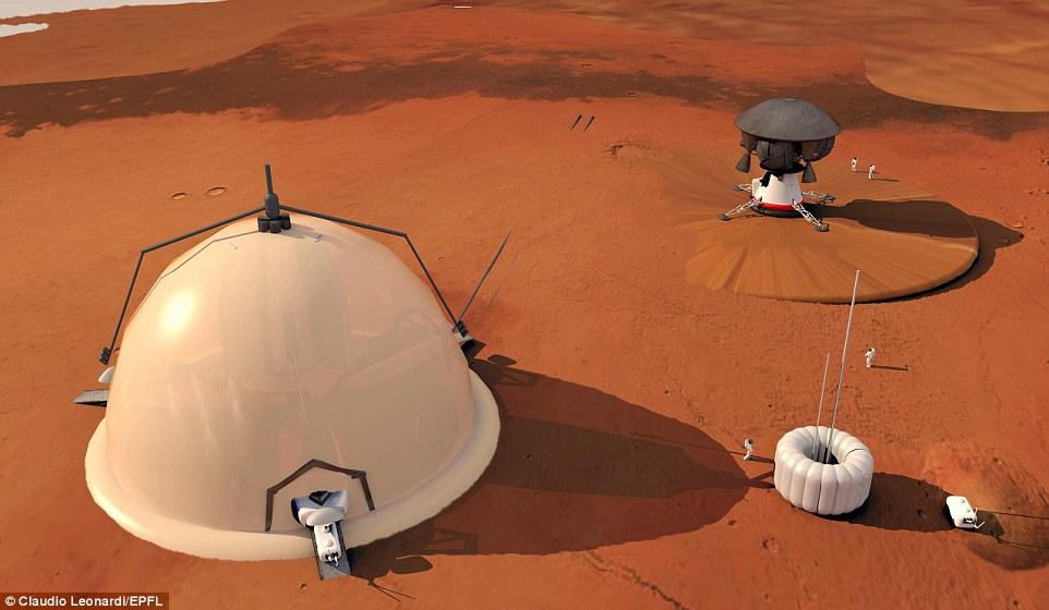 Швейцарцы составили план колонизации Марса