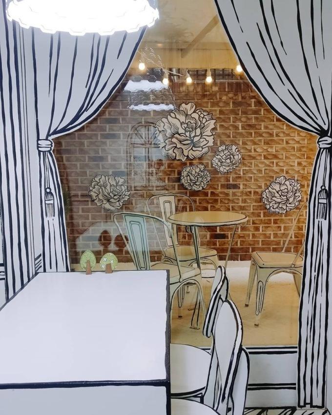 В Сеуле открыли нарисованное кафе В Сеуле открыли нарисованное кафе 8 4