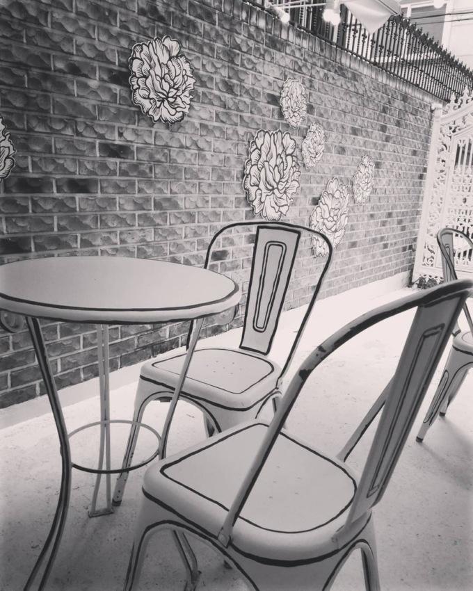В Сеуле открыли нарисованное кафе В Сеуле открыли нарисованное кафе 9 4