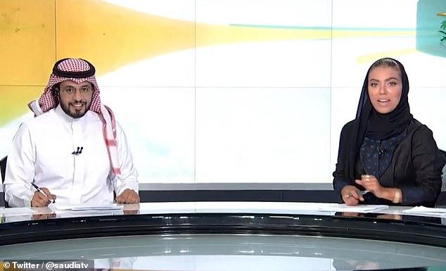 В Саудовской Аравии женщина впервые стала ведущей государственных новостей
