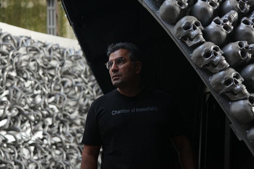 Из рогов и черепов: турецкий художник