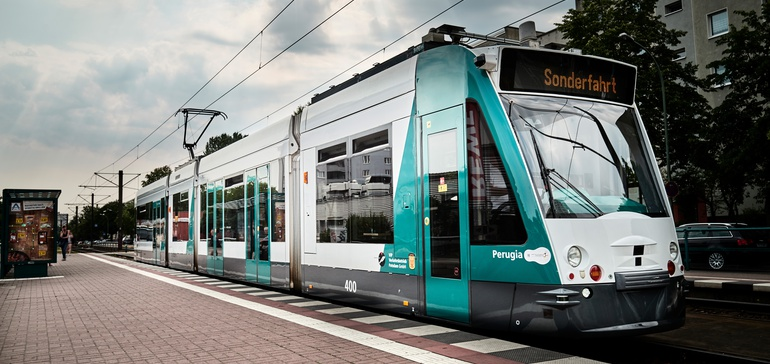 В Германии испытывают беспилотный трамвай