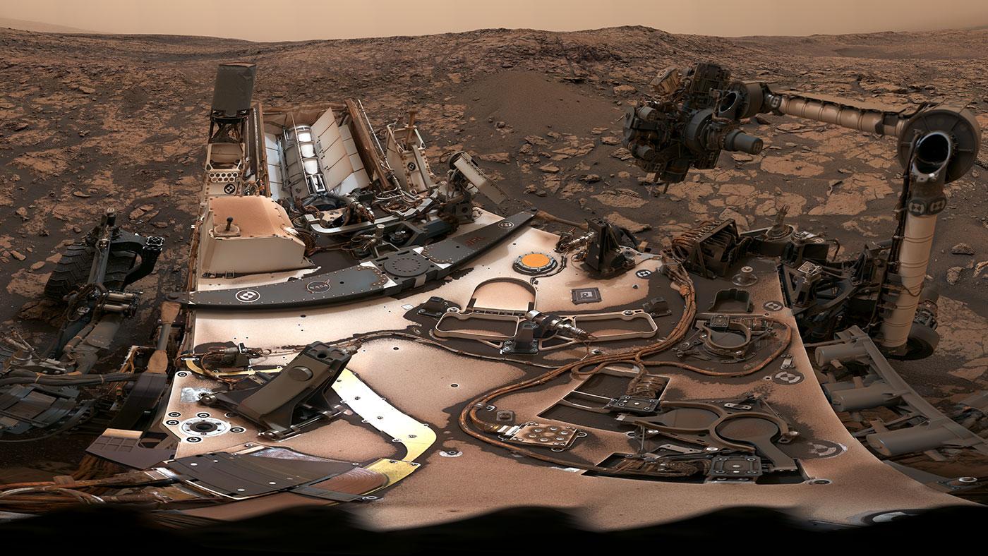 NASA показало видео последствий пыльной бури на Марсе