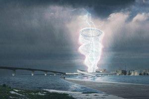 Во Флориде придумали павильон для сбора энергии из молний