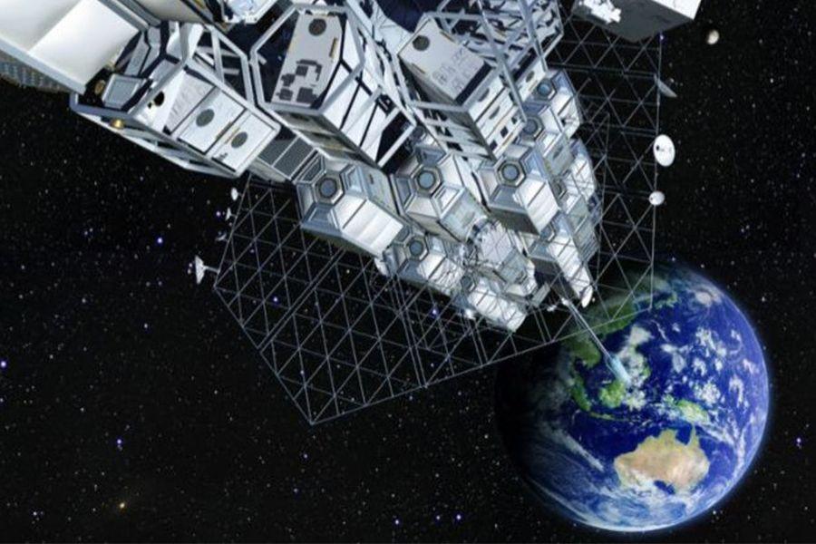 В Японии создали первый в мире космический лифт
