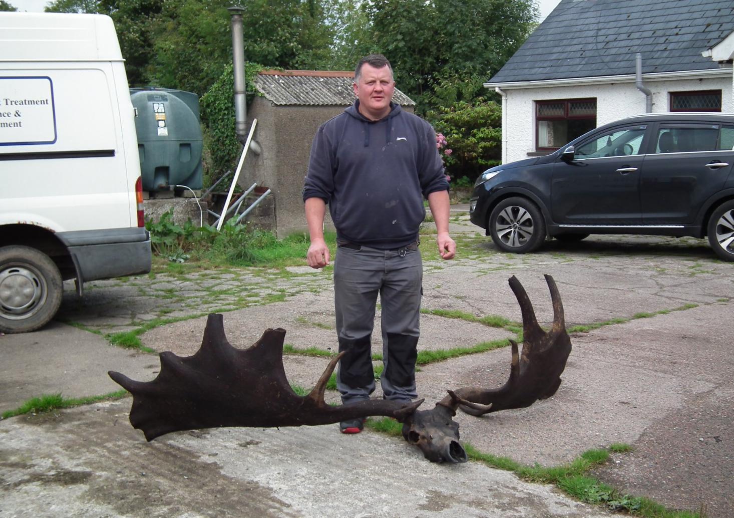 В Ирландии рыбак поймал череп давно вымершего лося