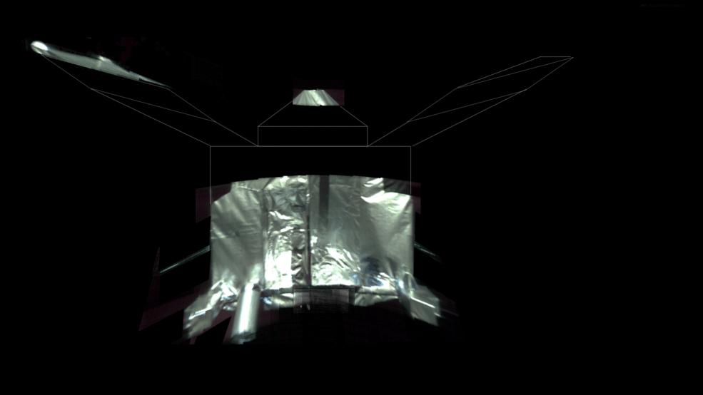 Марсианский зонд Maven сделал селфи на свой день рождения