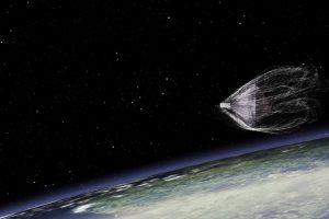Космический мусорщик поймал первый объект