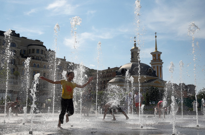 В Киеве зафиксировали первый рекорд осени