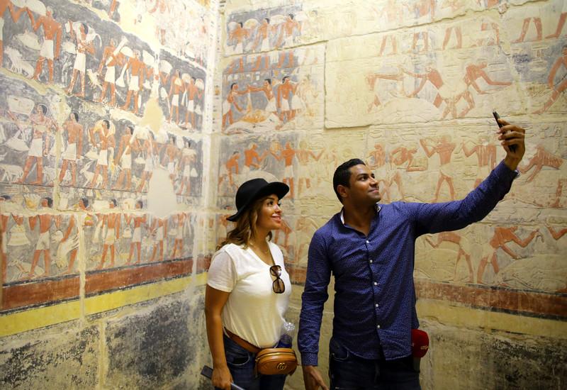 В Египте открыли для публики гробницу, которая старше пирамид