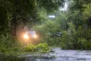 Ураган «Флоренс» в США: уже пять жертв