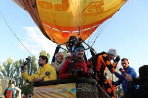 В Умані встановили рекорд України на висоті 4038 метрів