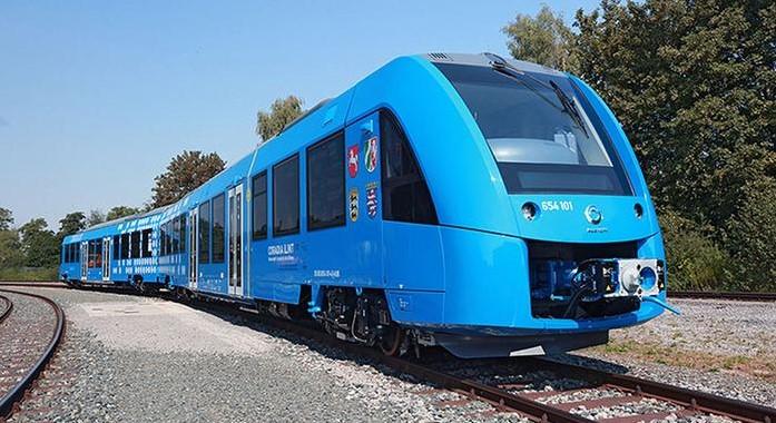 В Германии испытали первый в мире поезд на водороде.Вокруг Света. Украина