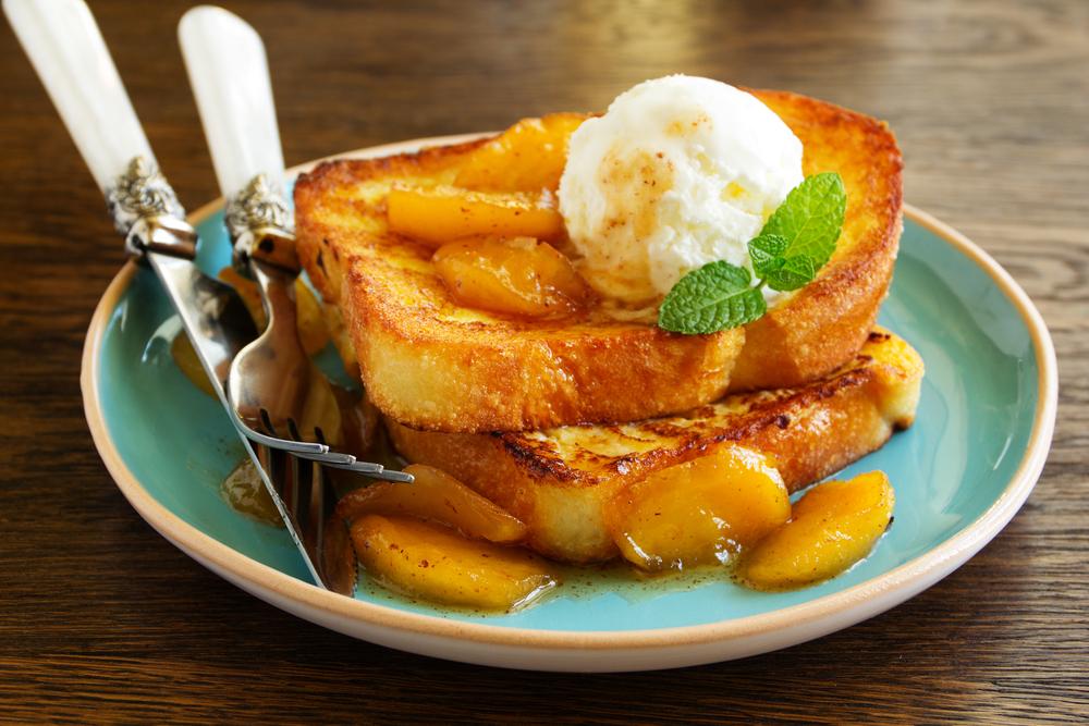 Кухни мира: французские тосты с яблоками