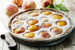 Кухни мира: клафути с абрикосами и персиками
