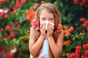 Дети, рожденные в сезон пыльцы, предрасположены к астме