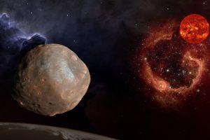 Фобос оказался обломком Марса