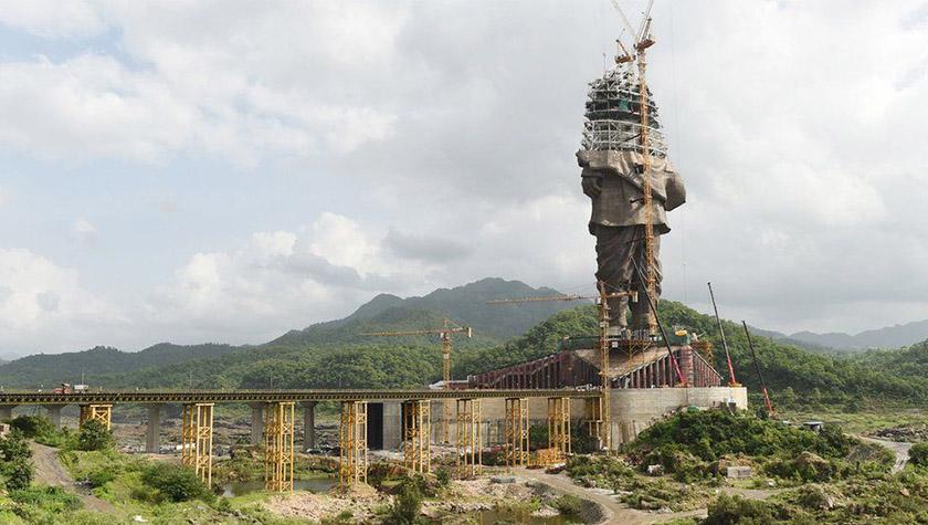 В Индии готовятся к открытию самой высокой статуи в мире.Вокруг Света. Украина