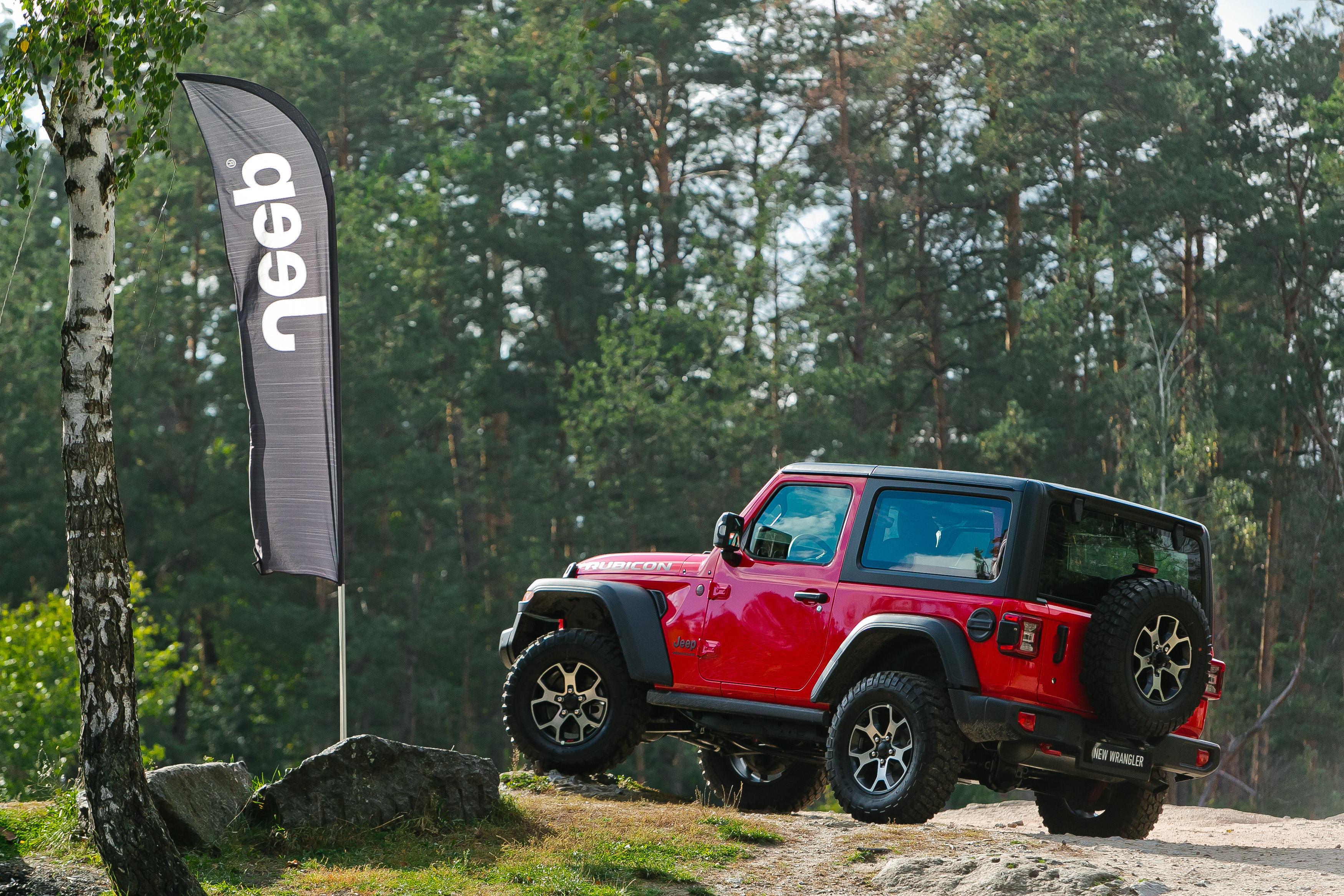 В Украине представили Jeep Wrangler четвертой генерации