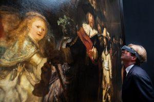 Digital-искусство: реставрацию картины Рембрандта будут транслировать онлайн
