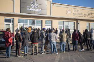 В Канаде выстроились «советские» очереди за марихуаной