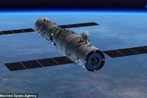 Вторая космическая станция Китая упадет на землю в следующем году