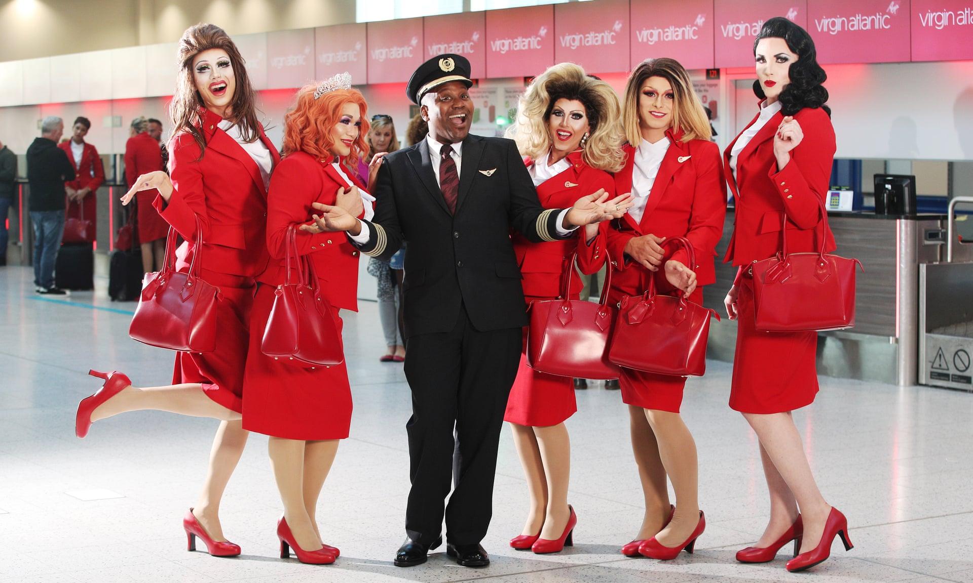 Virgin Atlantic запустит первый в мире ЛГБТ-рейс