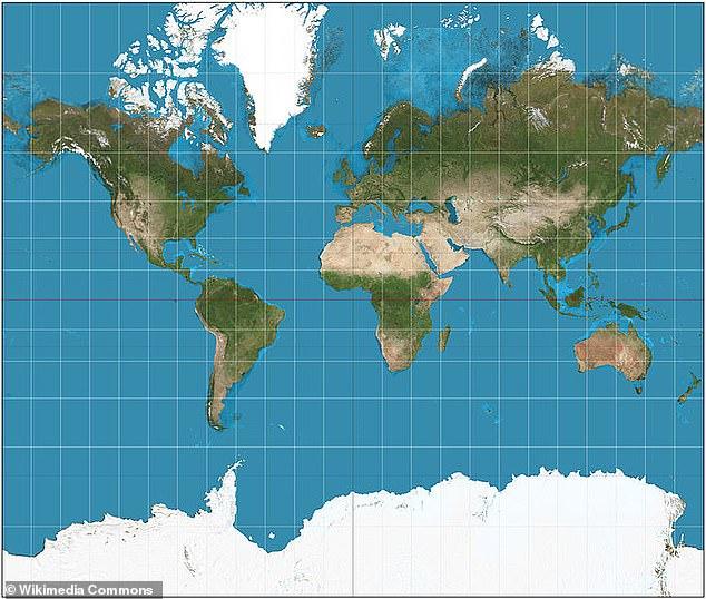 Все карты врут: ученый отредактировал размеры континентов