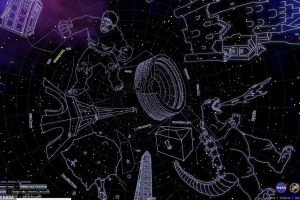 Кот Шрёдингера, Халк и Альберт Эйнштейн: NASA показало карту новых созвездий
