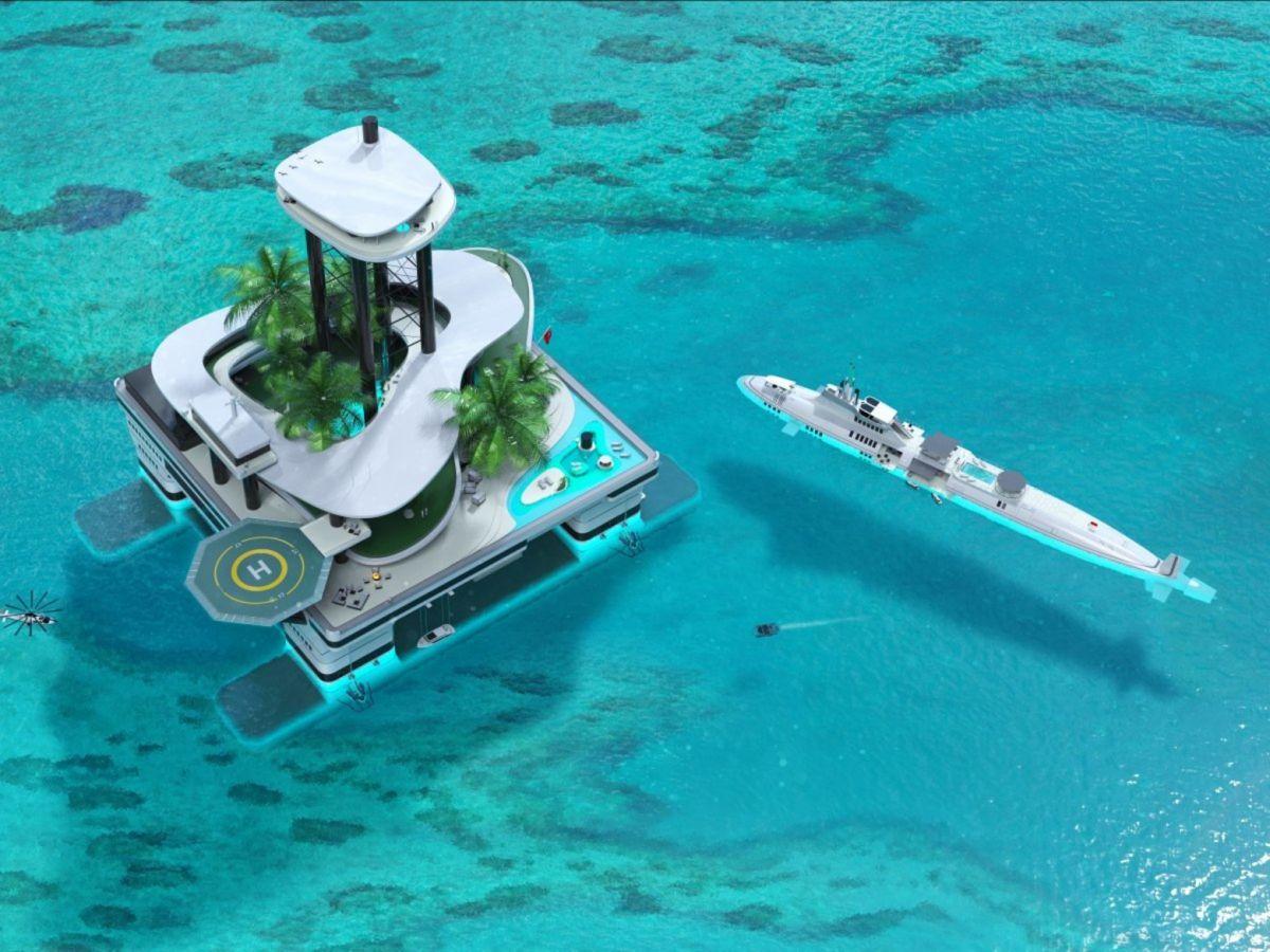 Яхты устарели. В моду входят передвижные острова Яхты устарели. В моду входят передвижные острова 7 1