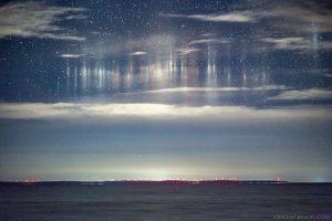 Американский фотограф снял свет из космоса