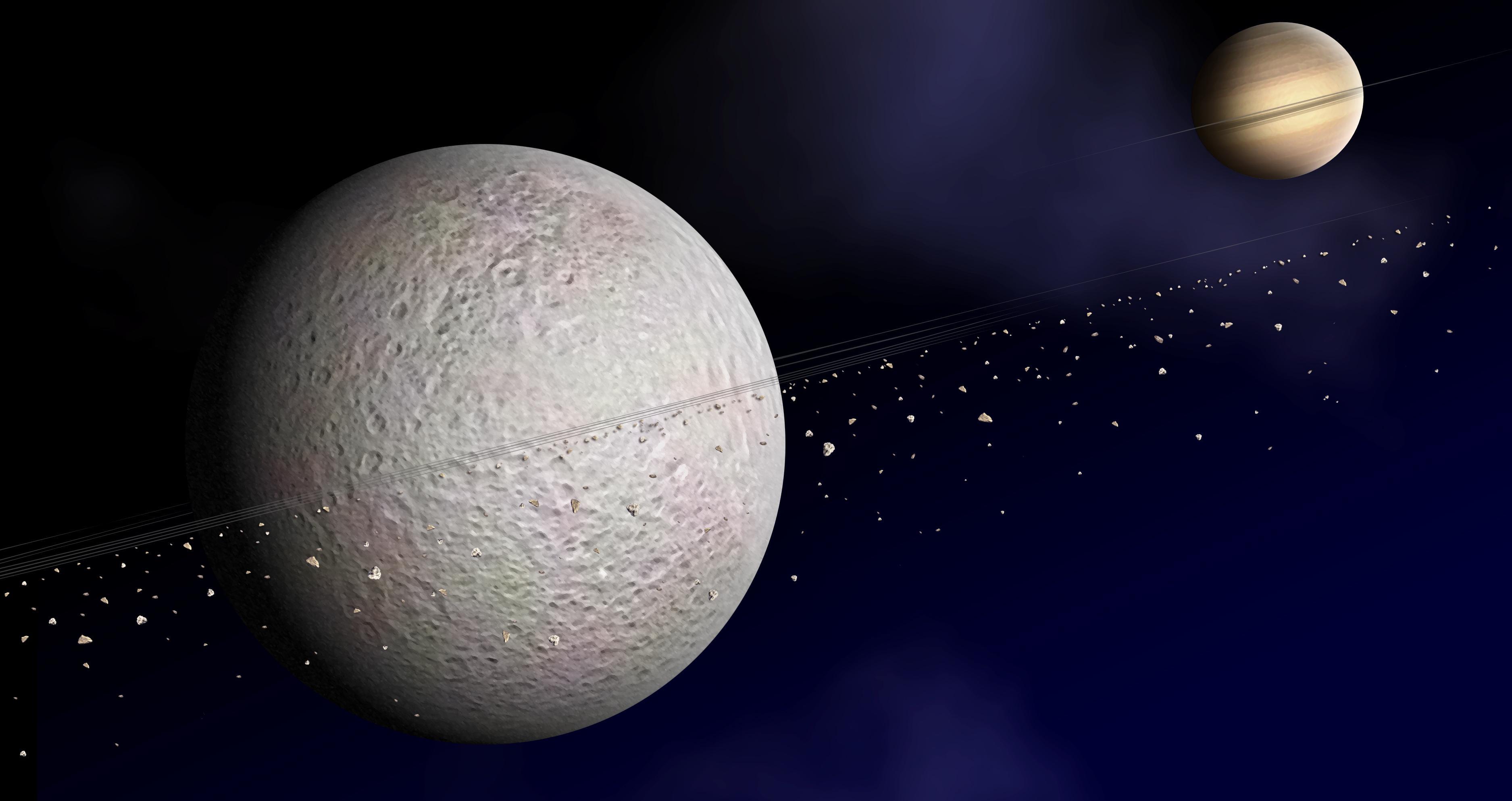 Есть ли у спутников планет спутники?