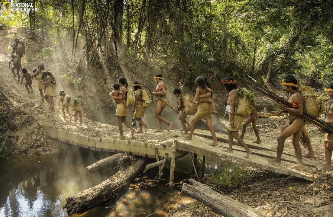 Экспедиция в прошлое: как живет затерянное племя в дождевых лесах Амазонки.Вокруг Света. Украина