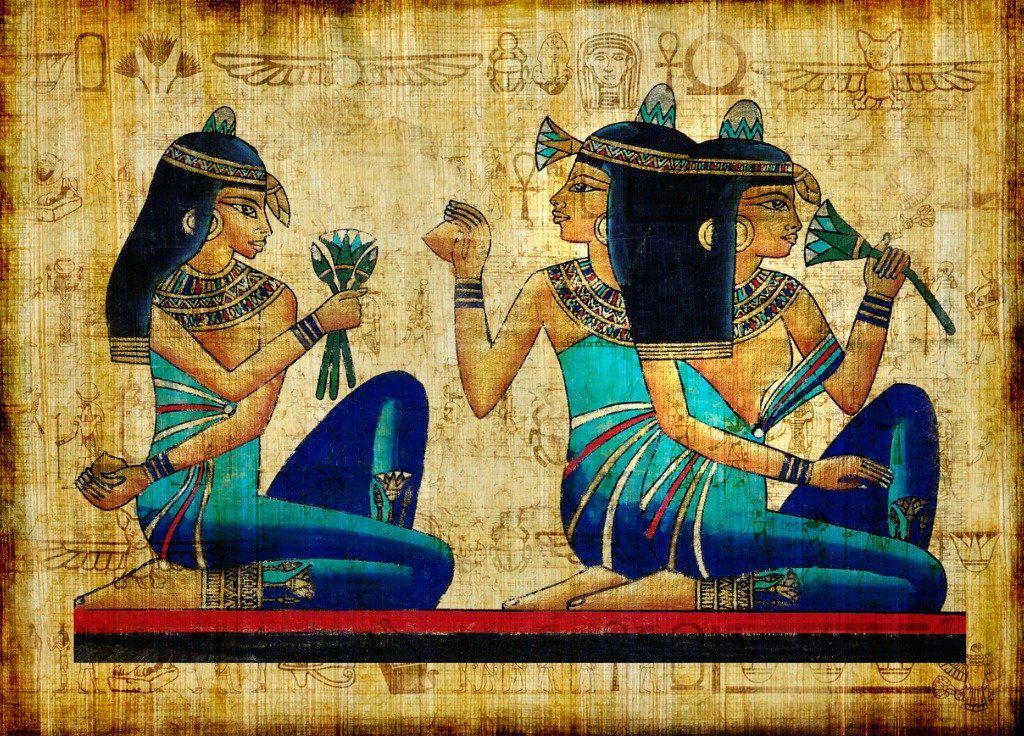 Древнеегипетская лазурь поможет сохранить в домах прохладу.Вокруг Света. Украина