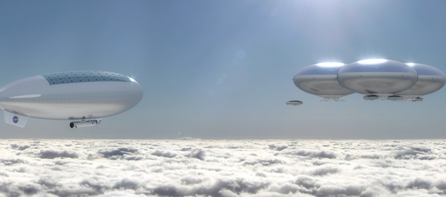 NASA планирует создать надувной город в атмосфере Венеры