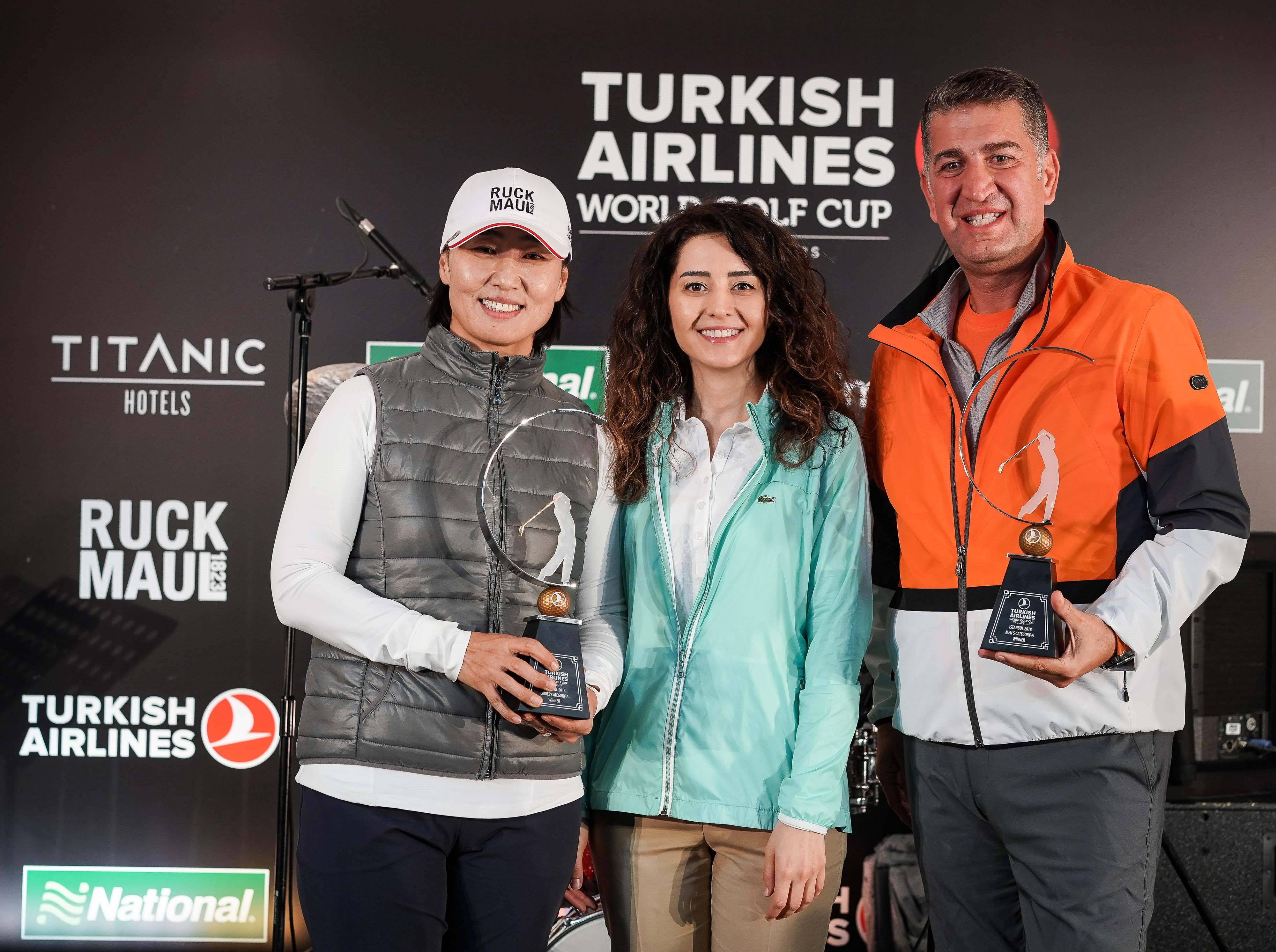В Стамбуле прошел 6-й международный турнир по гольфу  Turkish Airlines World Golf Cup