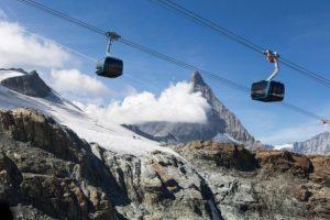 В Швейцарии заработала  самая высокая в мире канатная дорога