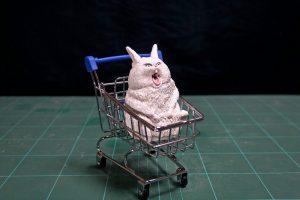 Японский художник делает скульптуры по мотивам мемов