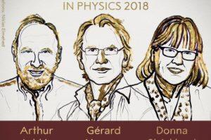 Впервые за 55 лет Нобелевская премия по физике присуждена женщине