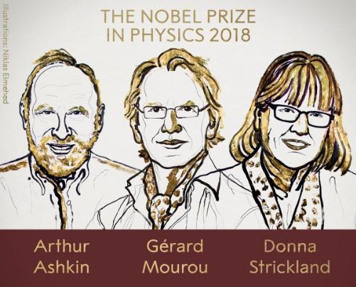 Впервые за 55 лет Нобелевская премия по физике присуждена женщине.Вокруг Света. Украина