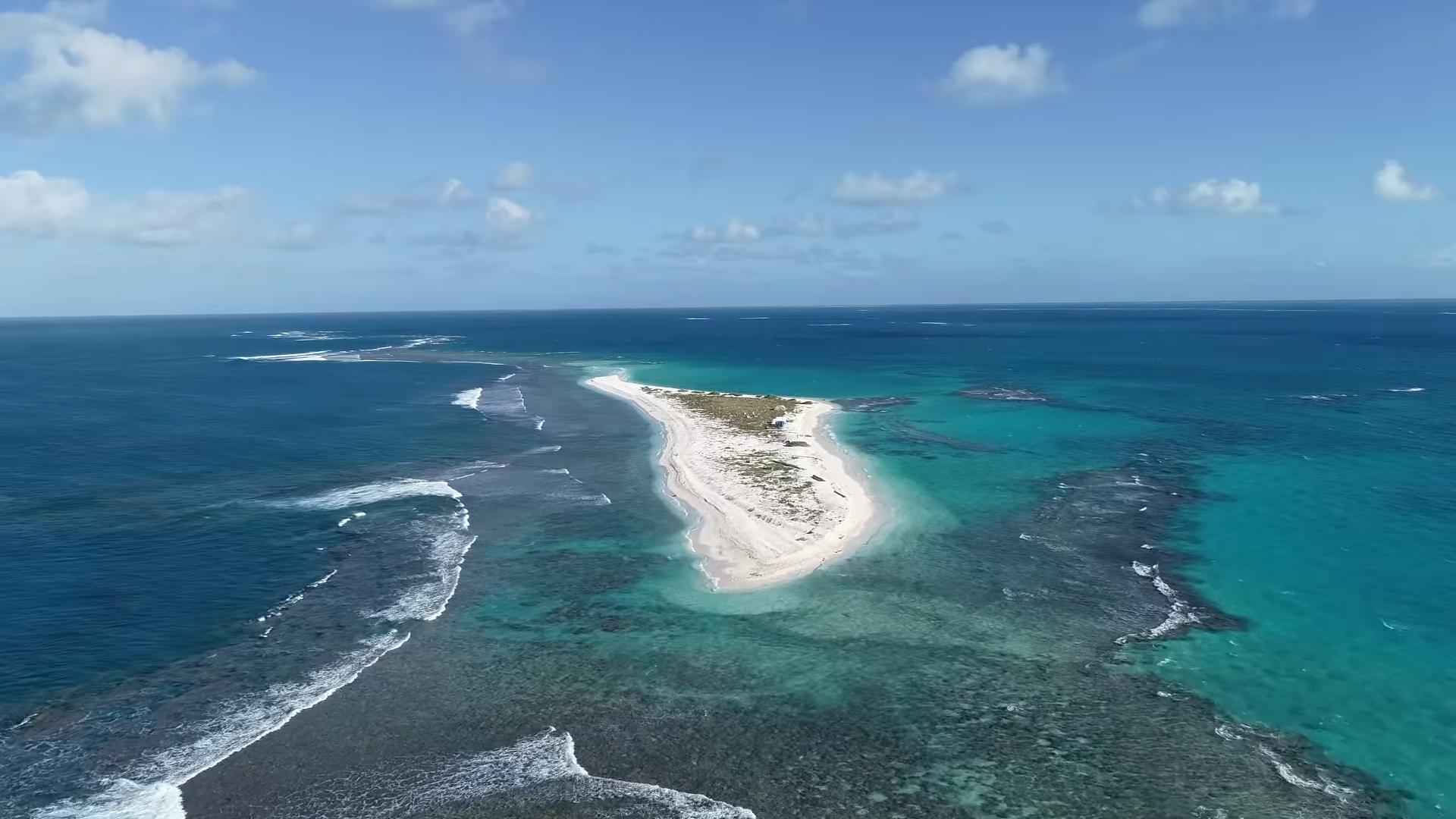Гавайский остров исчез после урагана